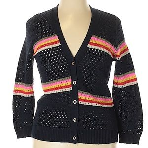 Juicy Couture navy cardigan